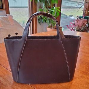 Ralph Lauren brown small bucket purse. GUC